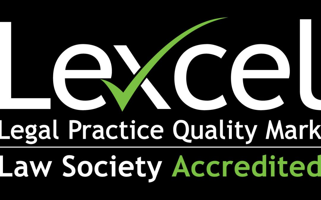 Alderson Law Awarded 21st Consecutive Lexcel Quality Standard