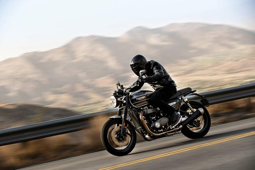 Mark Hipkin Bike Review: We're Back – In Black! (TRIUMPH SPEED TWIN 1200)